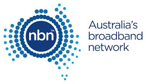 NBN and alarm systems: Australia's broadband network logo