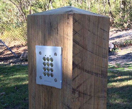 keypad entry device